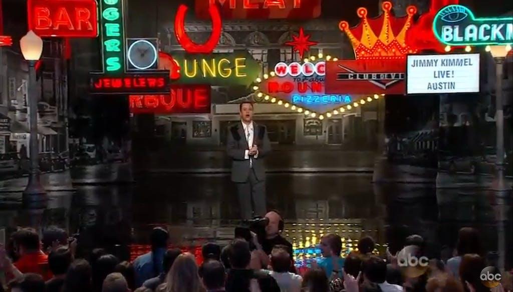 Kimmel Opening