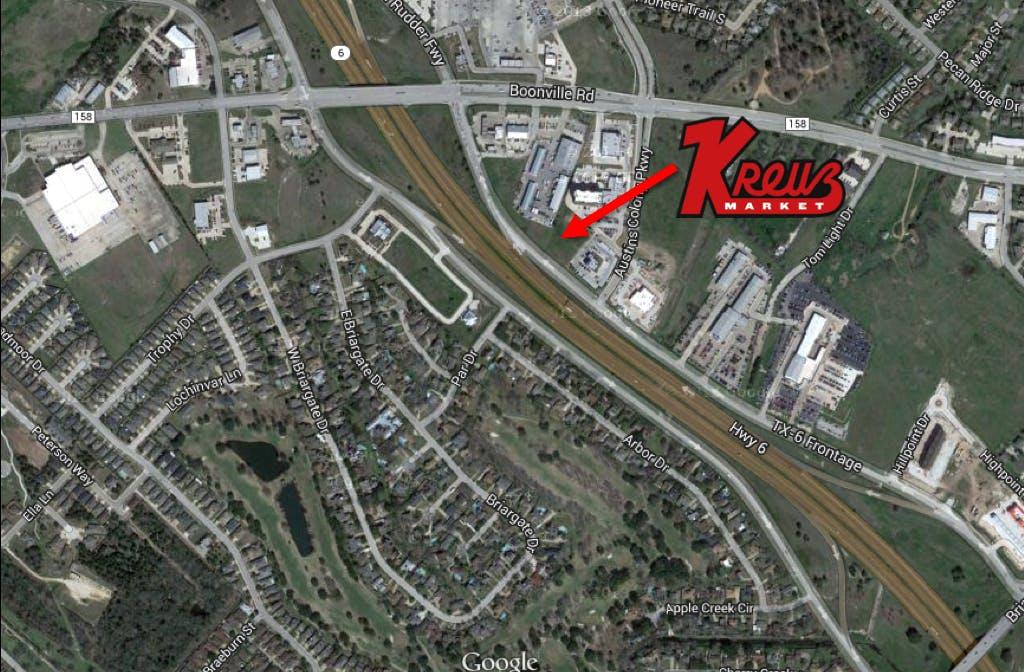 Kreuz map
