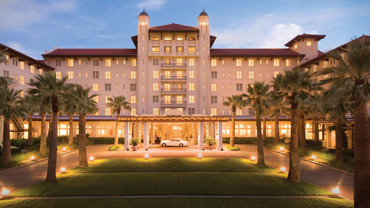Opened in 1911, the Hotel Galvez is the Texas coast's the coast's premier beachfront hotel.