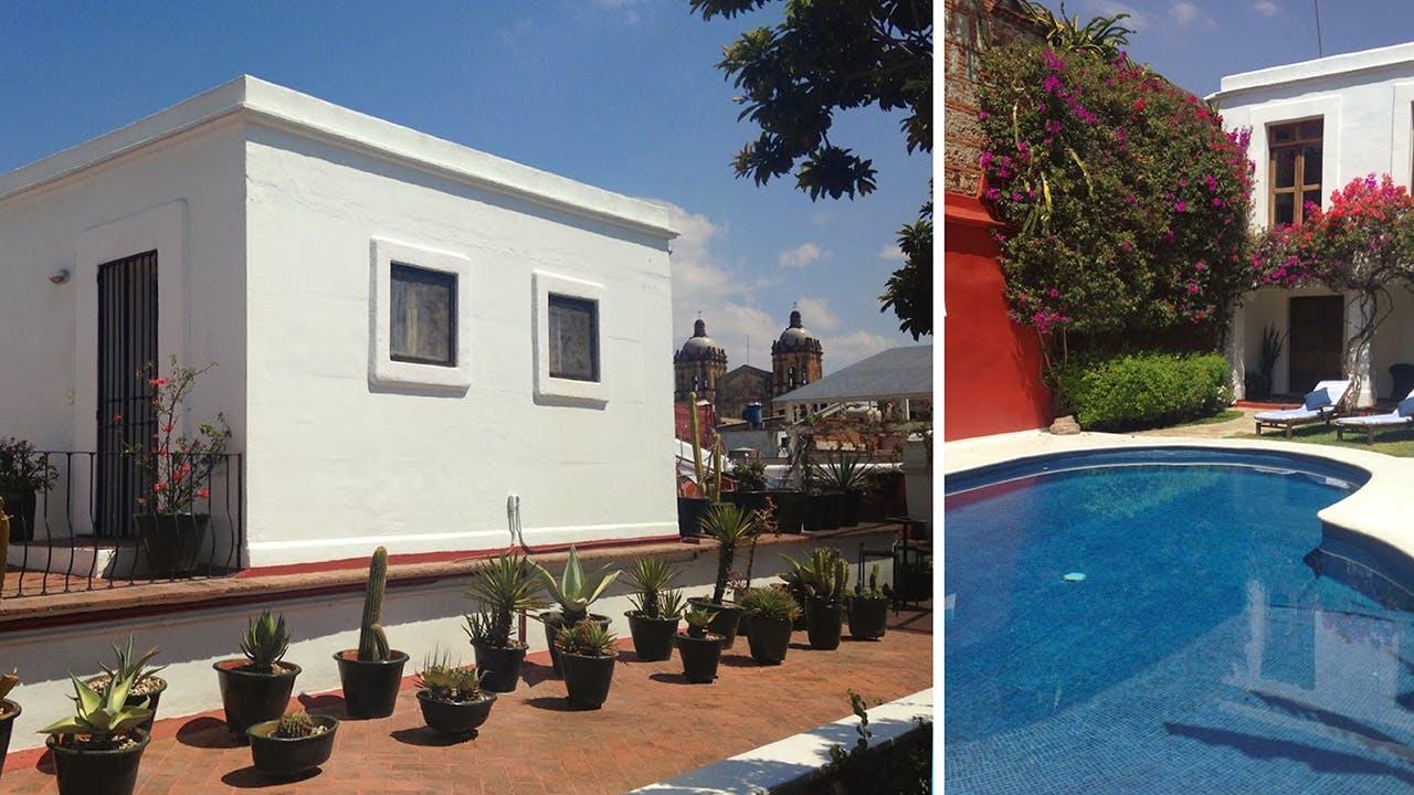 Take a dip in the designer pool at Casa Oaxaca.