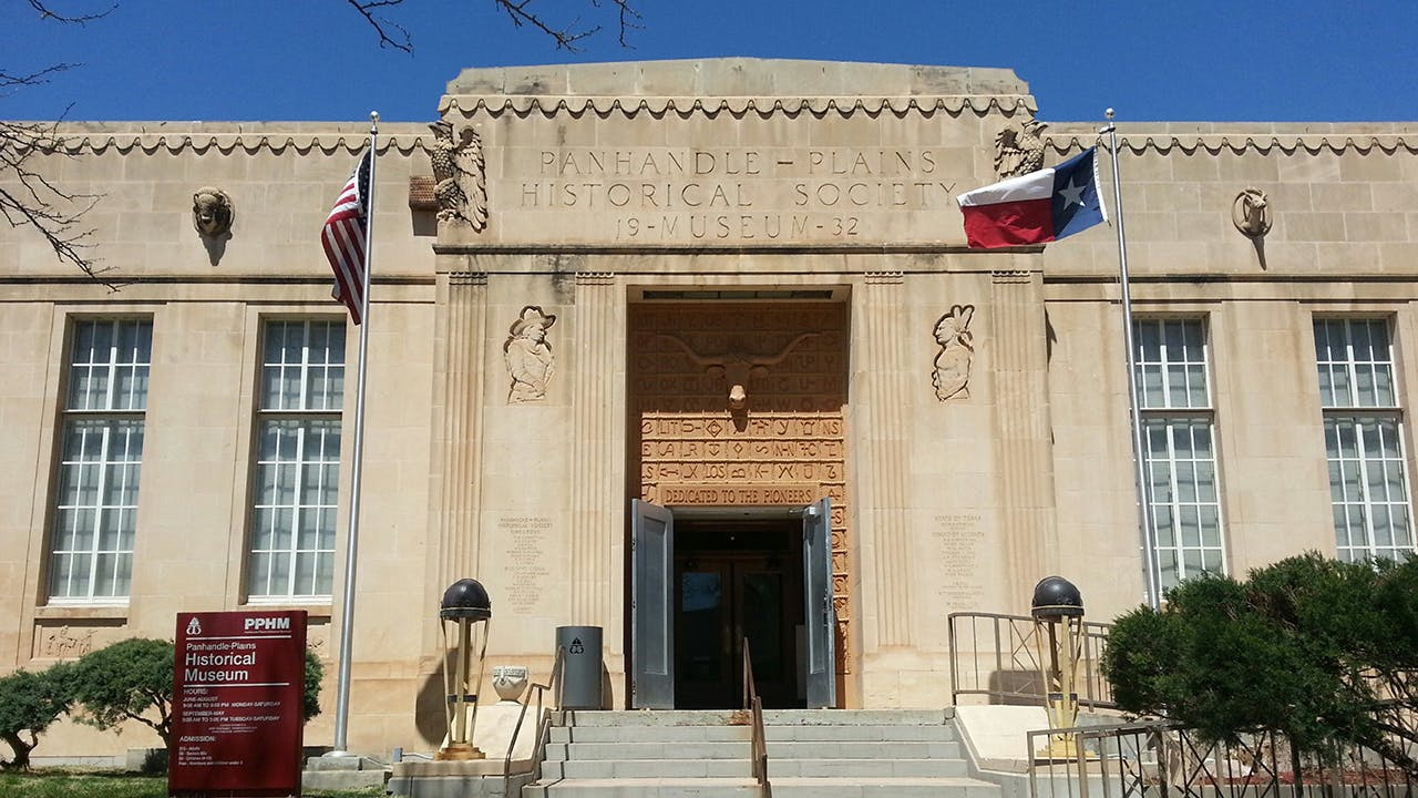 The Panhandle-Plains Historical Museum is the largest history museum in the state.