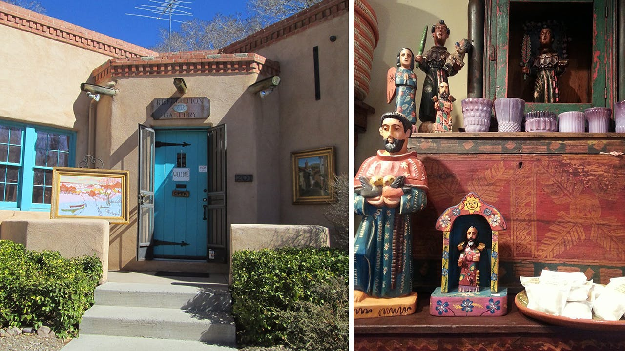 Canyon Road is a half-mile-long tourist magnet of boutiques and galleries.