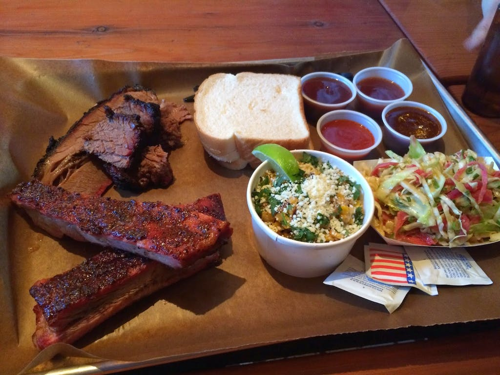 BBQ Tray Green Street Smoked Meats