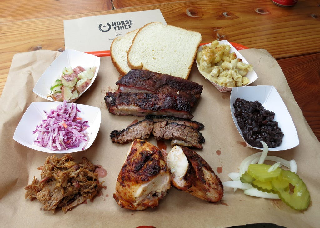 BBQ Tray Horse Thief