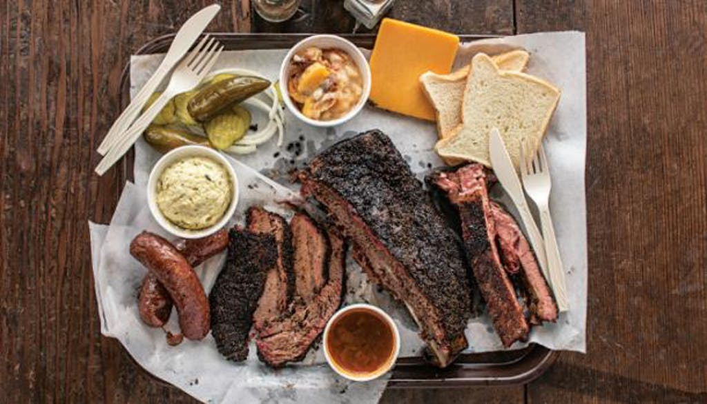 BBQ Tray Louie Mueller Barbecue