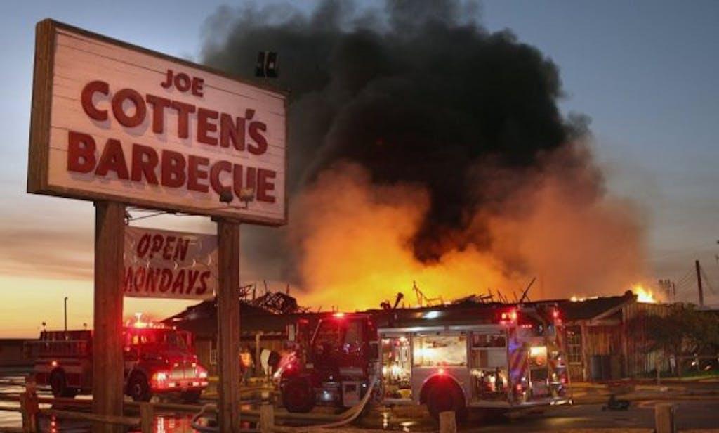 Fire Joe Cotten's BBQ
