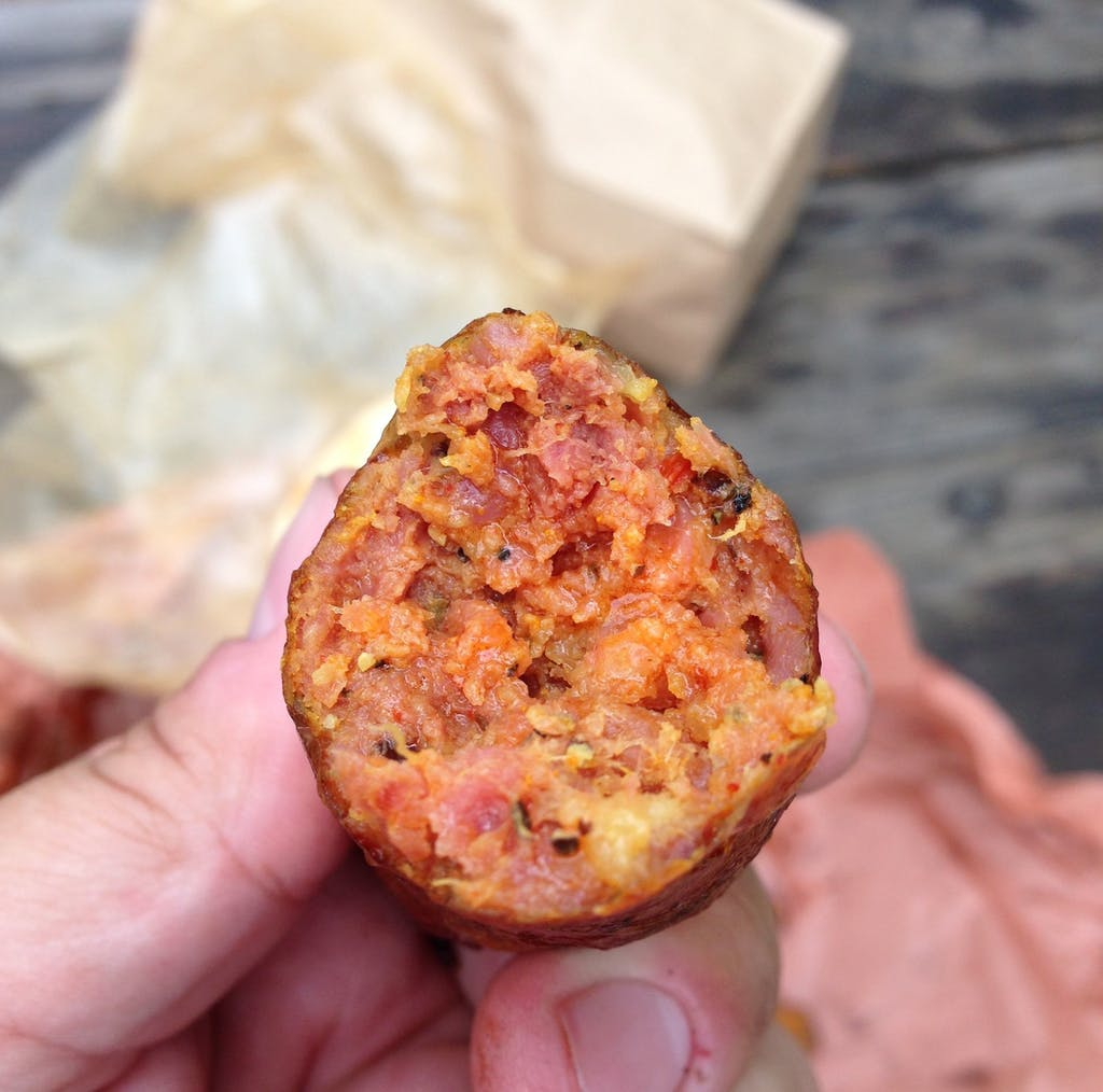 La Barbecue sausage
