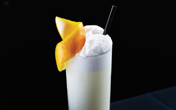 what is in a gin fizz