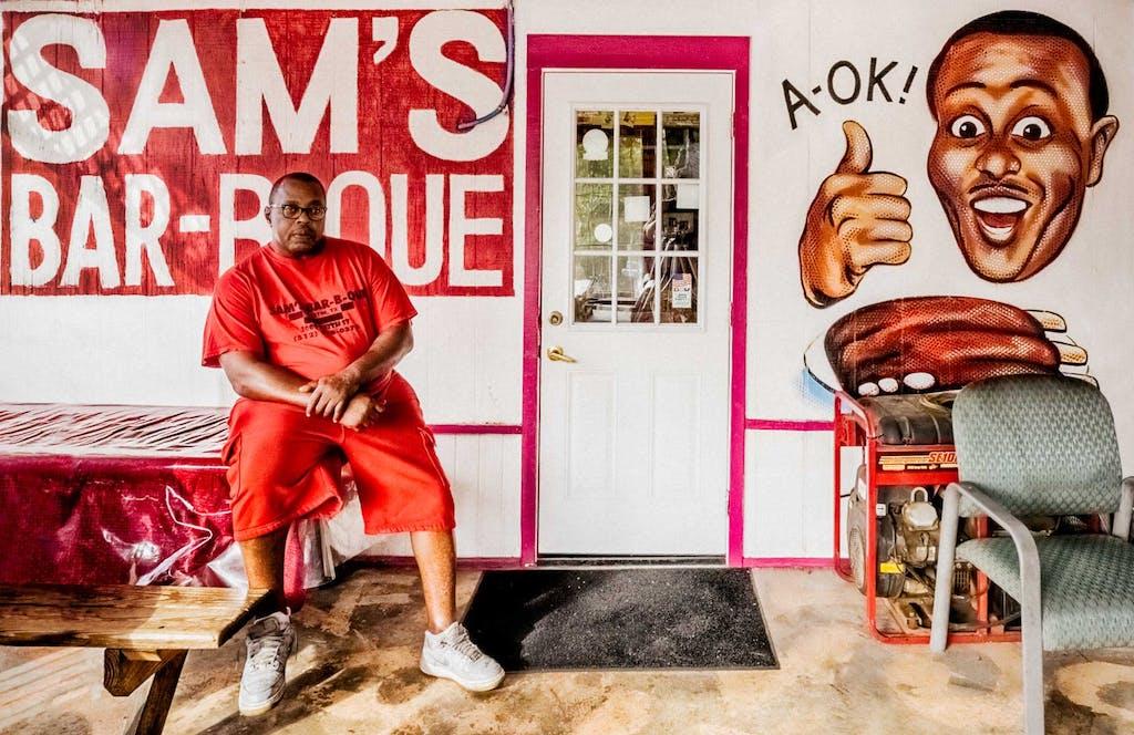 Sam's Bar-B-Que Austin,Texas-2