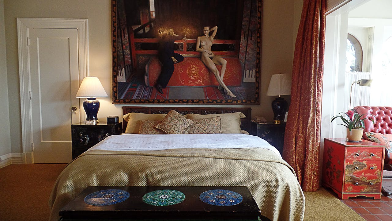 La Colombe d'Or is an eclectic, five-suite boutique hotel.