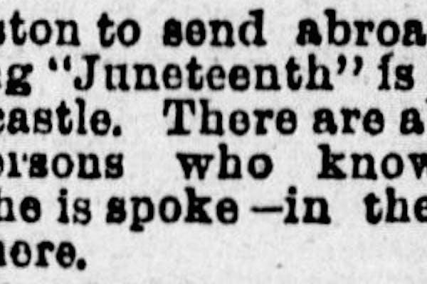 Juneteenth 1890