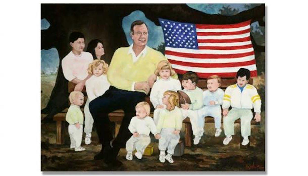 George Bush CW Test