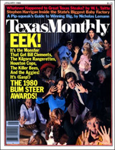 January 1980 Issue Cover