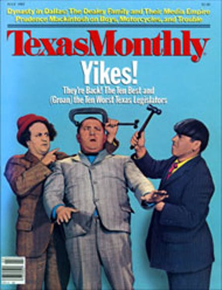 July 1985 issue cover