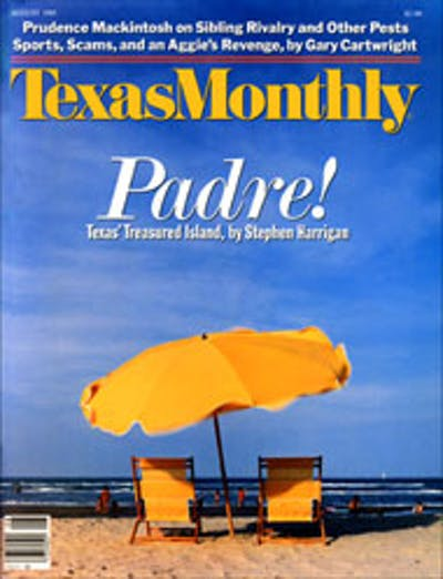 August 1985 Issue Cover