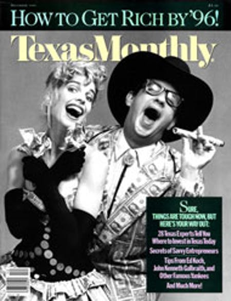 December 1986 issue cover