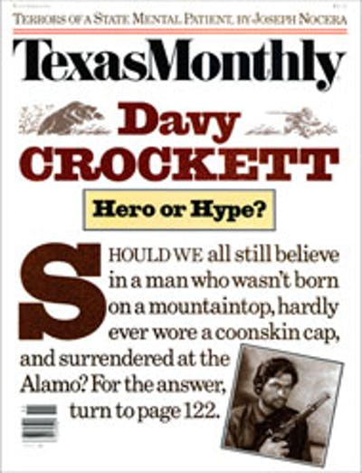 November 1986 Issue Cover