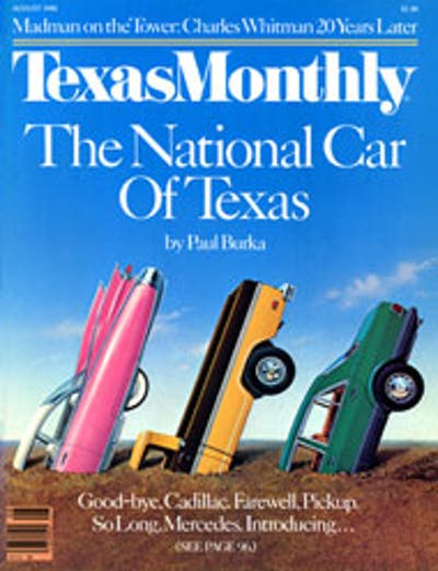 August 1986 Issue Cover