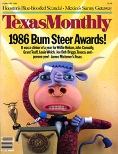 February 1986 Issue Cover