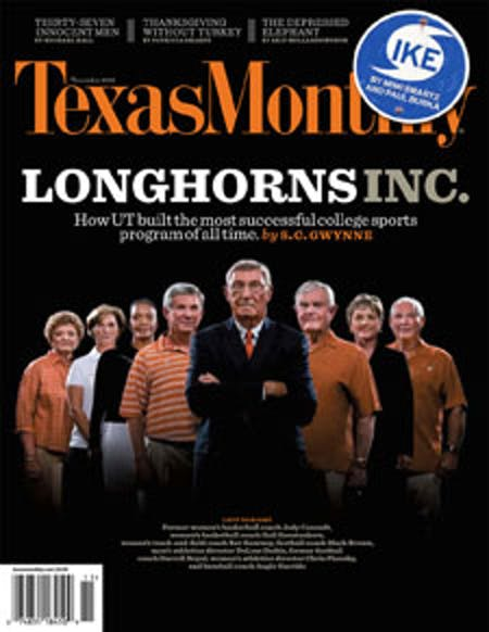 November 2008 issue cover