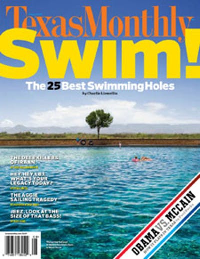 August 2008 Issue Cover