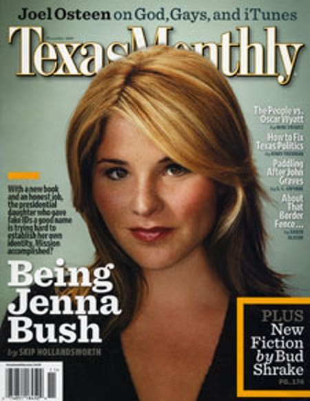 November 2007 issue cover
