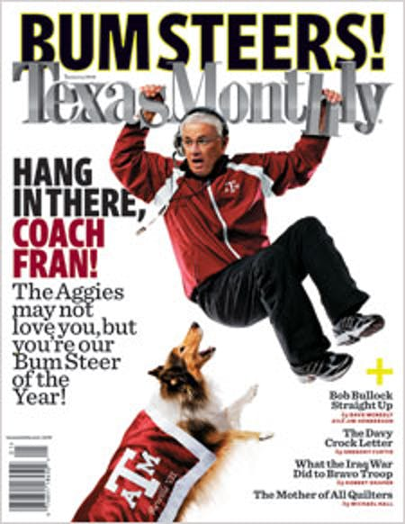 January 2008 issue cover