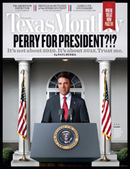 February 2010 issue cover