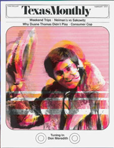 February 1973 issue cover
