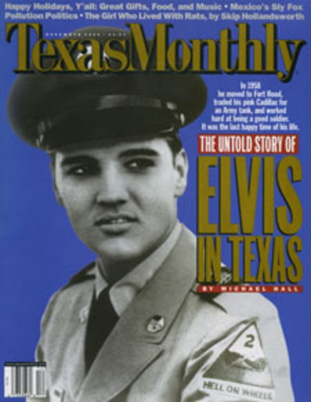 December 2000 issue cover