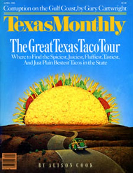 April 1986 issue cover