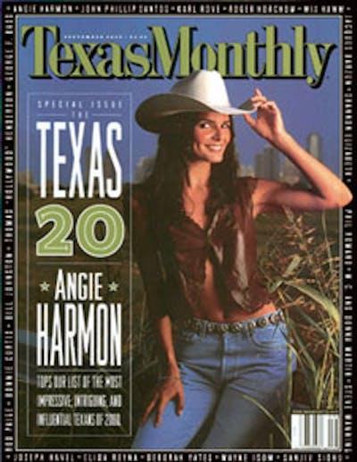 September 2000 Issue Cover