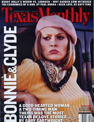 February 2001 Issue Cover