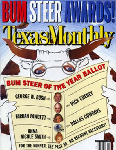 January 2001 Issue Cover