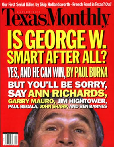 July 2000 Issue Cover