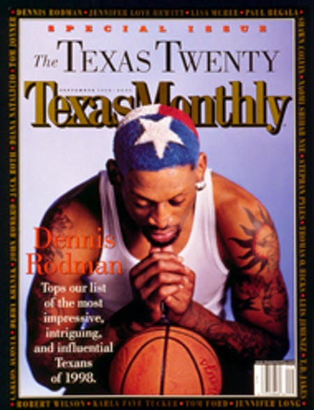 September 1998 issue cover