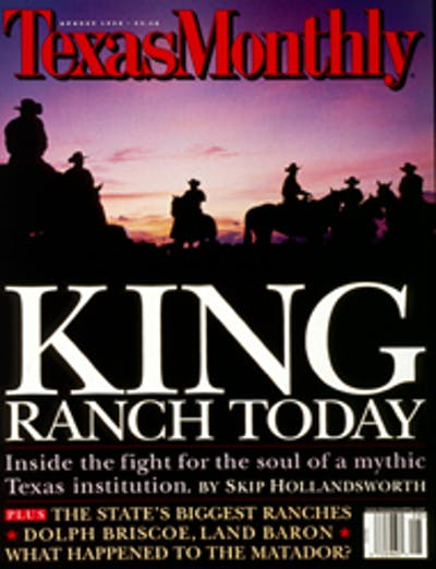 August 1998 Issue Cover