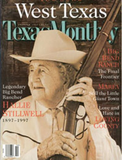 October 1997 Issue Cover