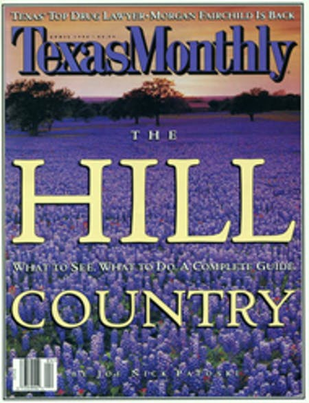April 1996 issue cover