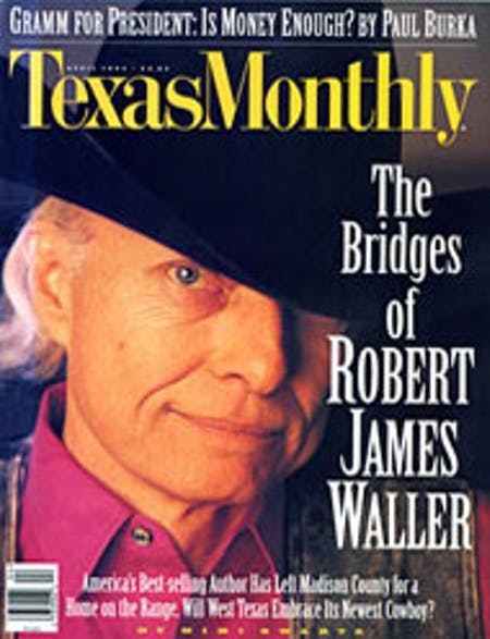 April 1995 issue cover