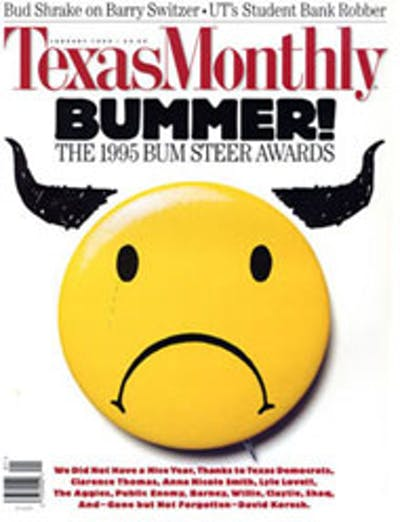 January 1995 Issue Cover