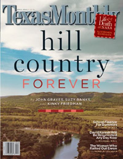 April 2003 Issue Cover