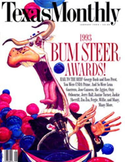 January 1993 Issue Cover