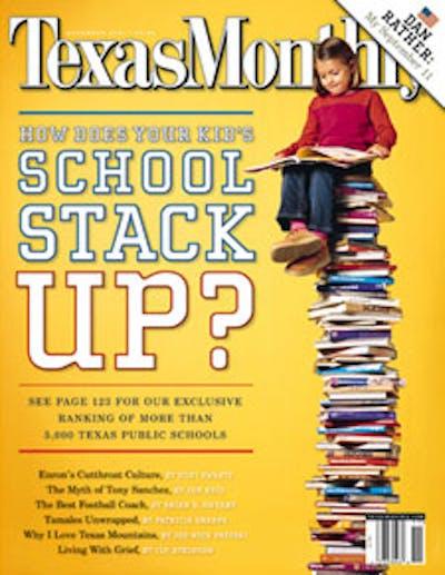 November 2001 Issue Cover