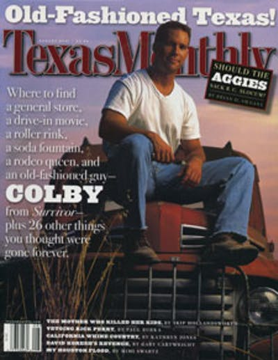 August 2001 Issue Cover