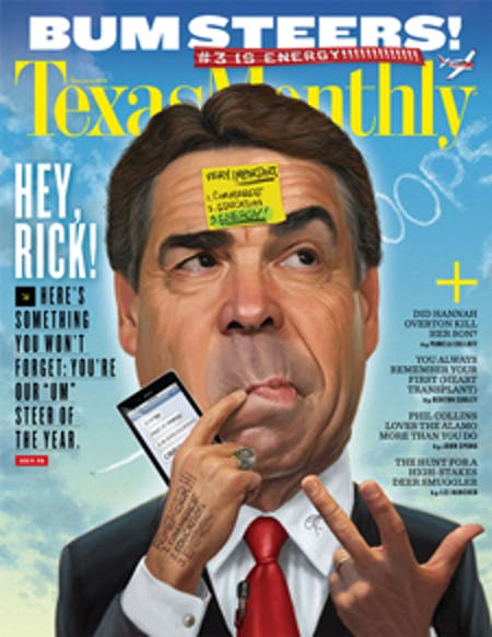 January 2012 issue cover