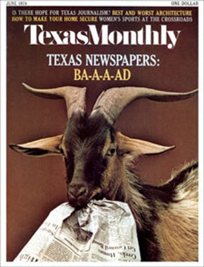 June 1974 Issue Cover