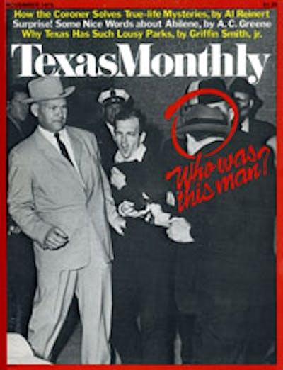 November 1975 Issue Cover