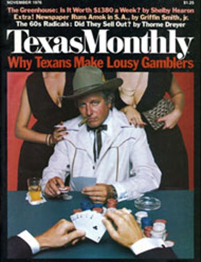 November 1976 Issue Cover