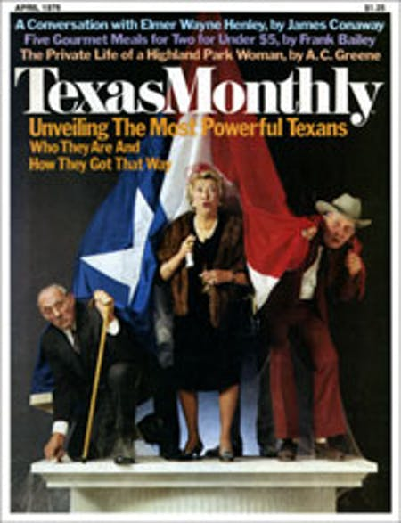 April 1976 issue cover